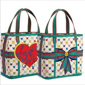 🆕item! Brighton Christmas & hearts tote bag